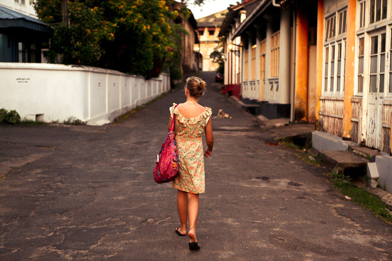 Sunshinestory; Rasi & Catharine (THe oLD RaiLwAy) on Sri Lanka