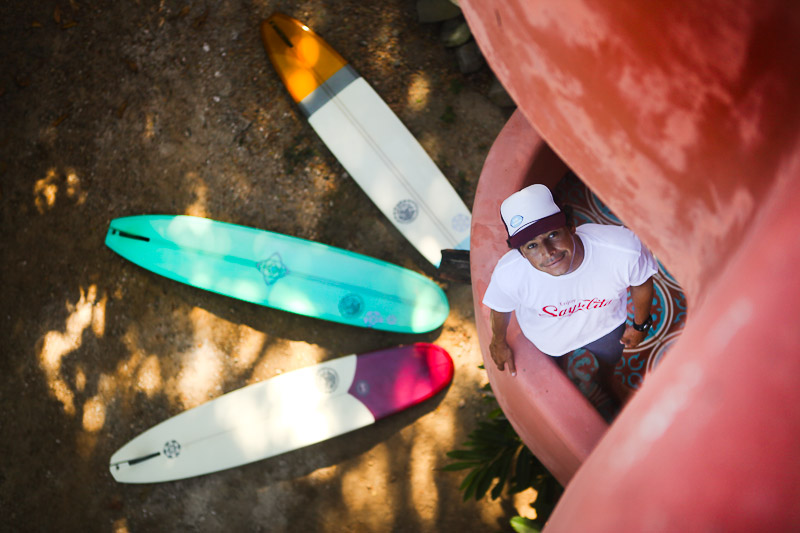 Sunshinestory; Israel Preciado (Surfer, Property Manager, Model) in Mexico