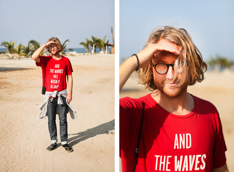 Sunshinestory; Ed Fladung (Photographer, Surfer, Artist, Designer @ Qualitypeoples,) in Mexico