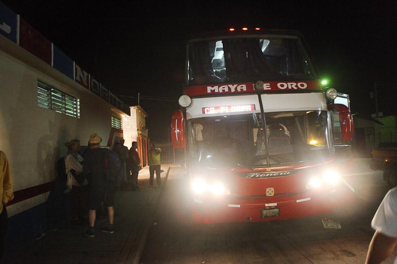 autobus de noche