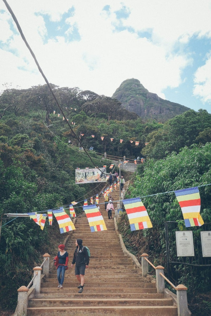 Adams Peak-Sri Pada-Sri Lanka