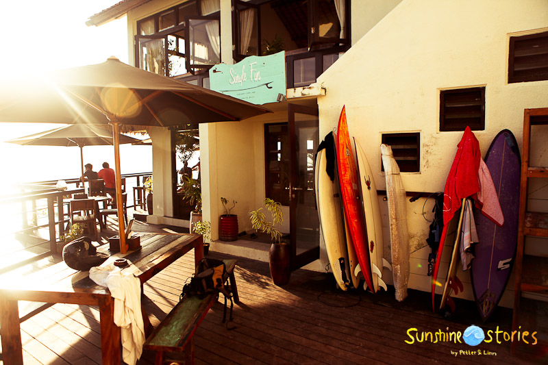 Sunshinestory; Helle & Tai (Single Fin Uluwatu, Pro Surfer, Musician, Graphic Designer) on Bali