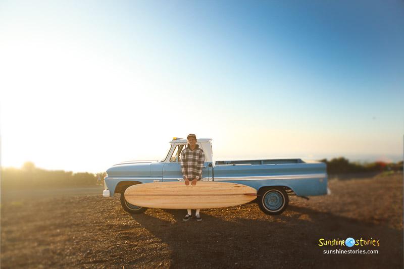 Sunshinestory; Mick Rodgers (Teamrider Bing, Surfer, Model?) in California