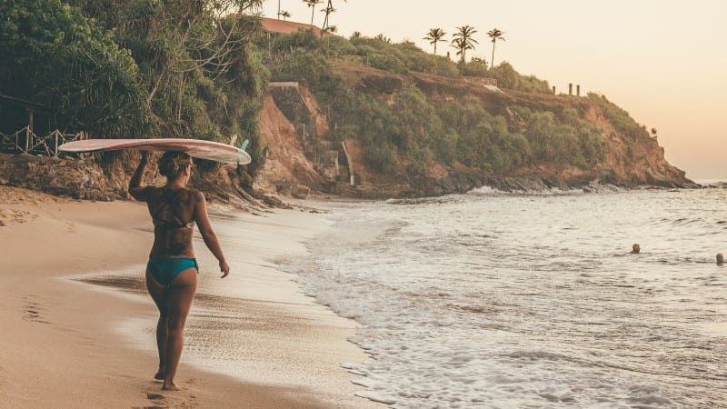 Best surf breaks on the South Coast of Sri Lanka