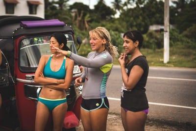 Surf coach Jen of Sunshinestories