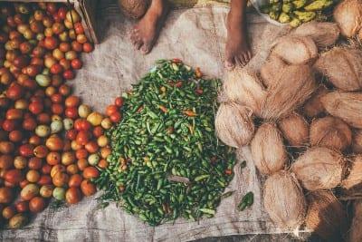 Market in South Sri Lanka