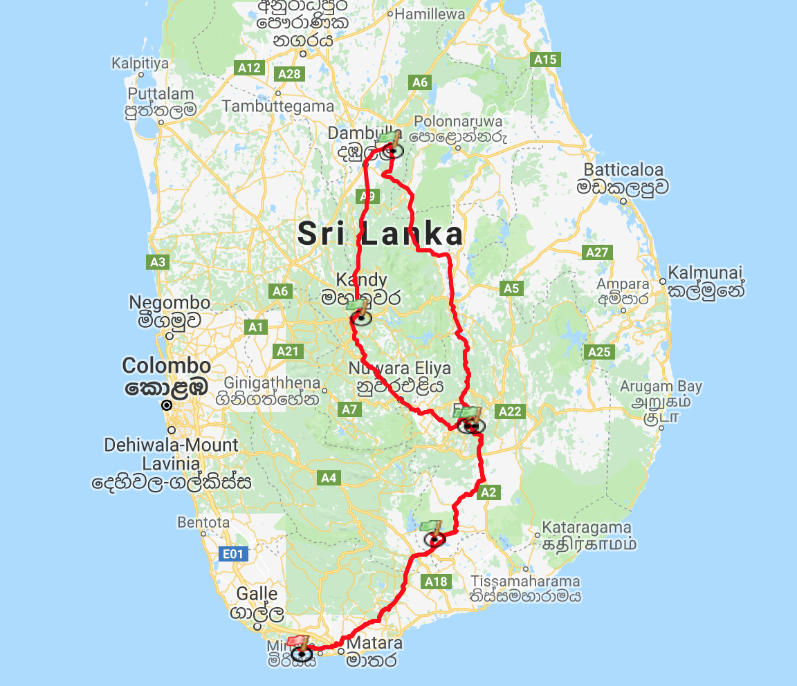 Sri-Lanka-Bike-Route