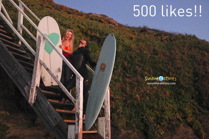 500 likes!!