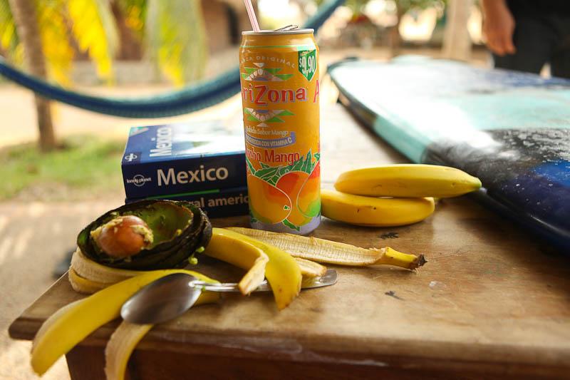 mucho mango + a blue fish