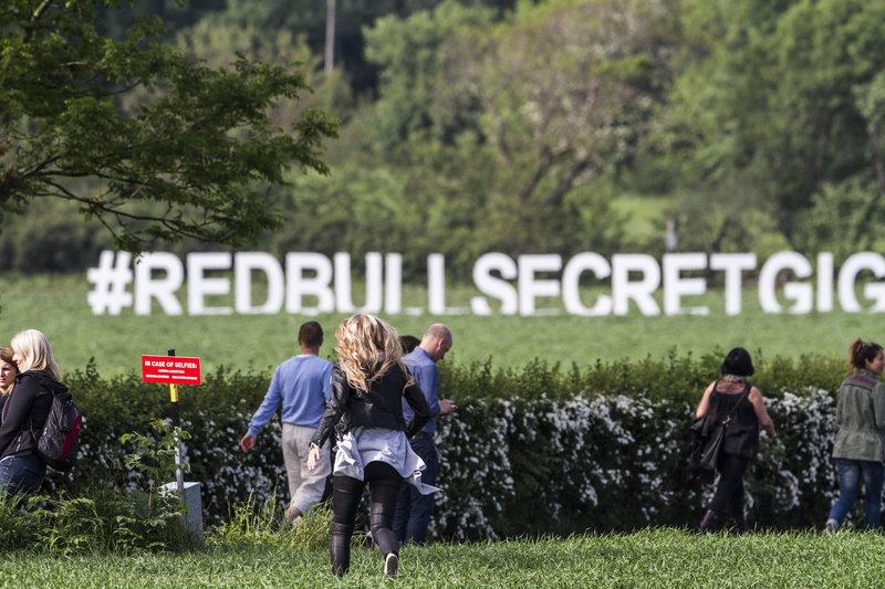 Red Bull Secret Gig Mando Diao