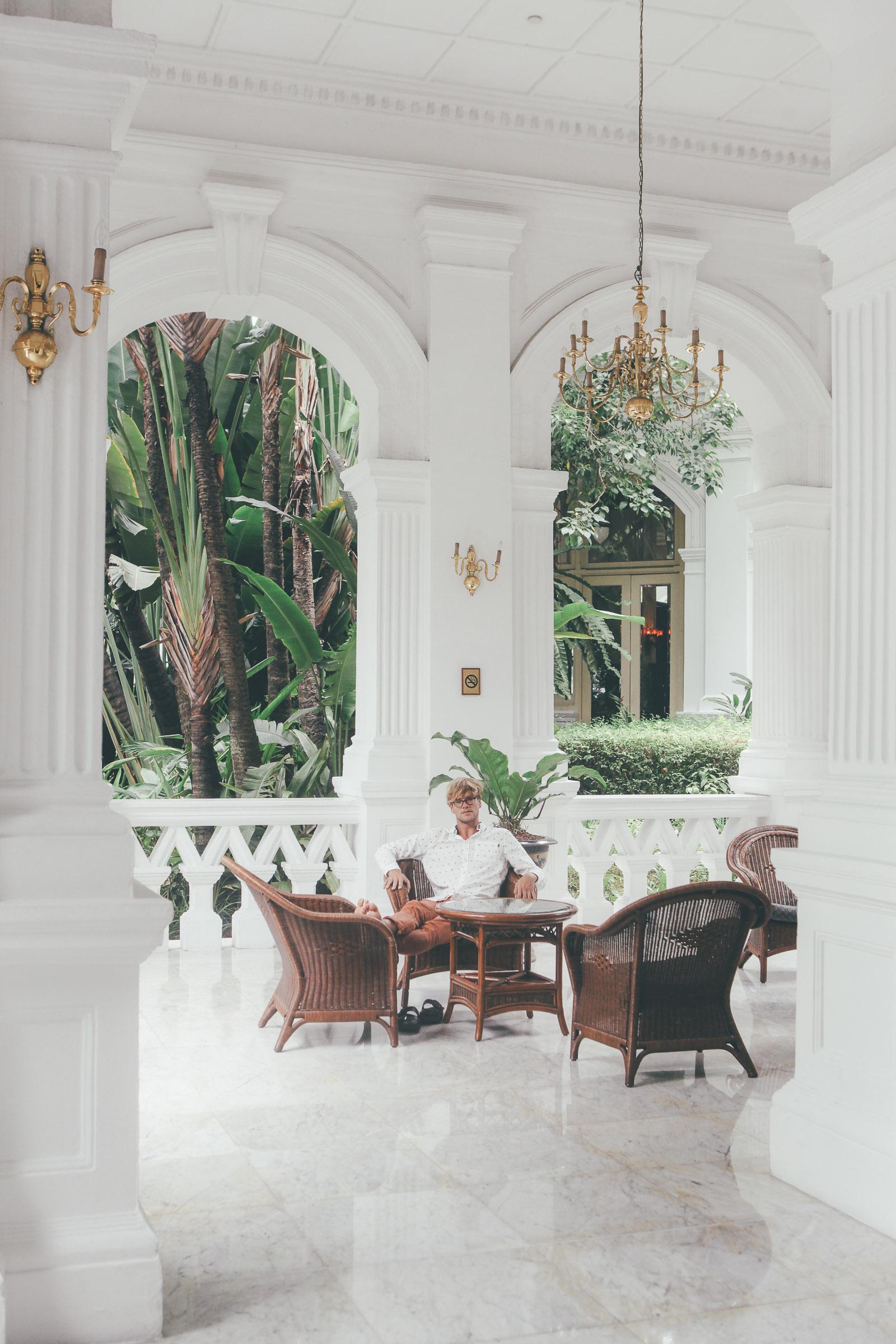 Singapore Sling Raffles Hotel