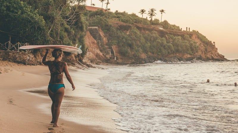 Best surf breaks on the South Coast of Sri Lanka