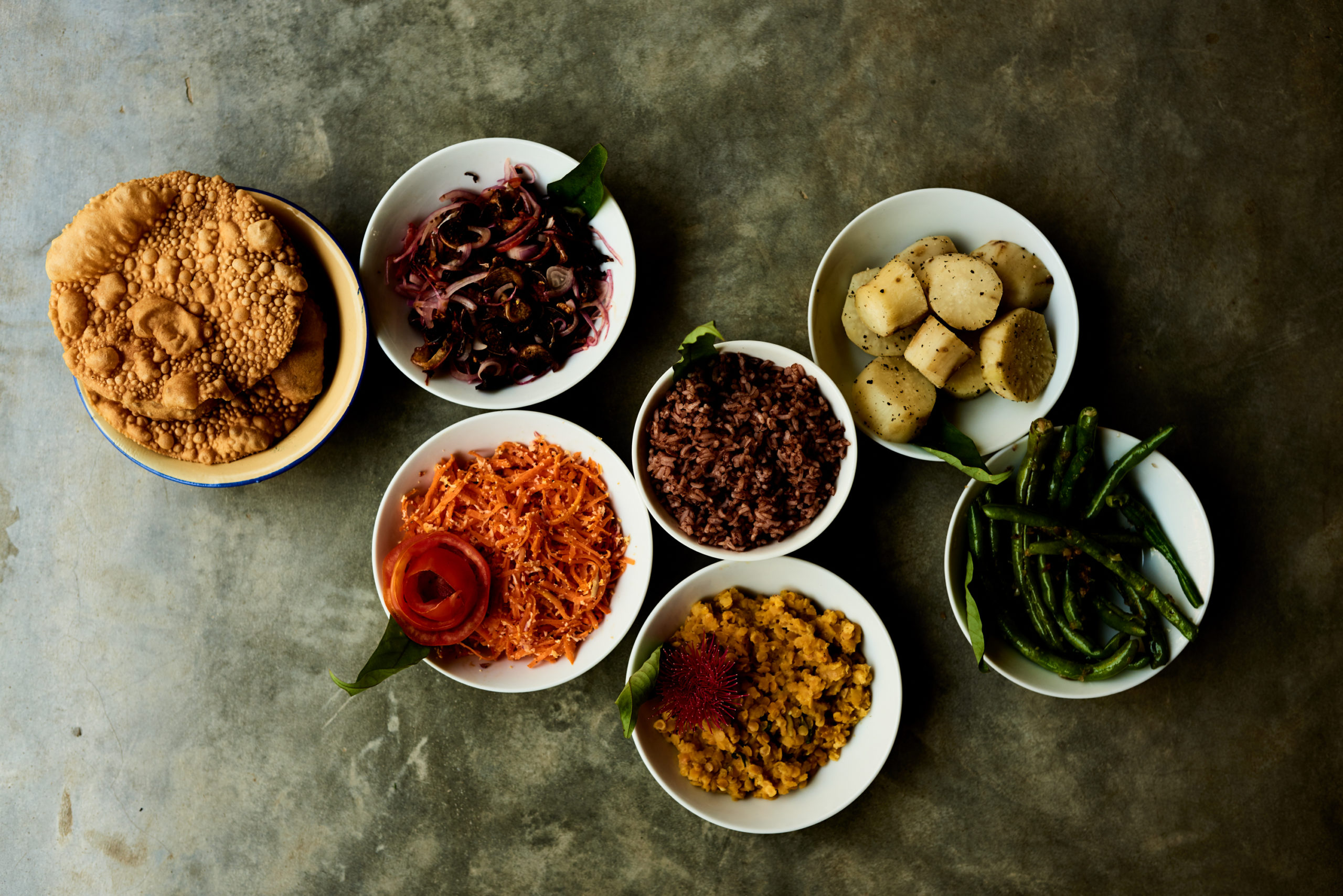 Sri Lankan Cooking , Curry and rice, sunshine stories