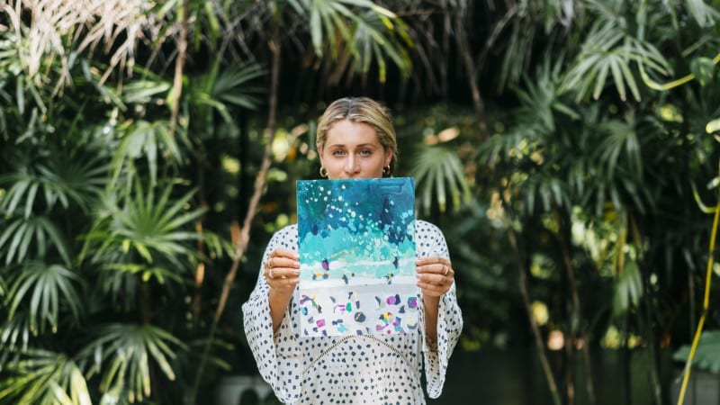 Meet surfer and painter Nina Brooke